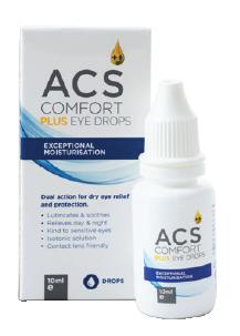 ACS Comfort Plus Eye Drop Solution - ACS Pharma