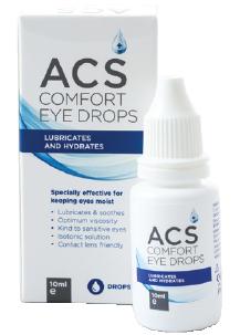 ACS Comfort Eye Drop Solution - ACS Pharma