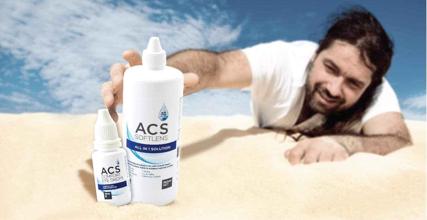 Relief from dry eyes - ACS Pharma